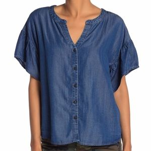 NWT Sanctuary Kora Flutter Sleeve Top